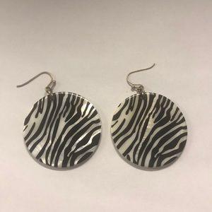 Jewelry - Zebra 🦓 pattern earrings